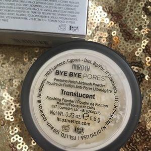 It Cosmetics BNIB Bye Pores Loose Setting Powder